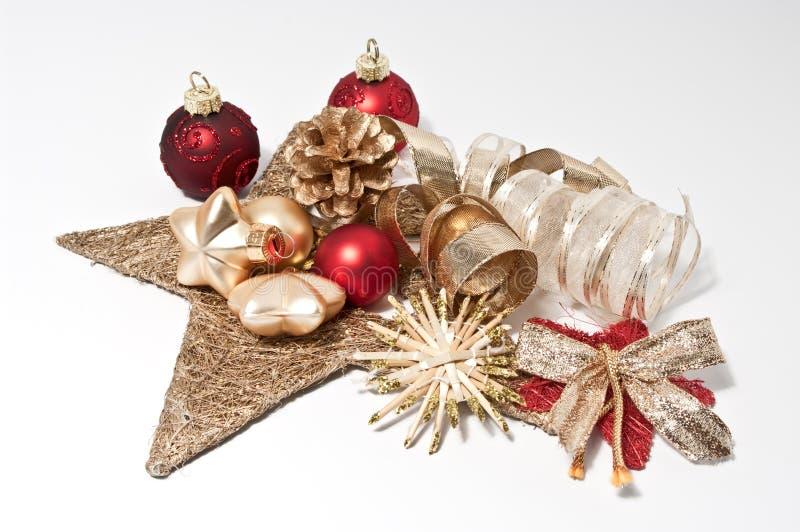 Decoração para o Natal imagens de stock