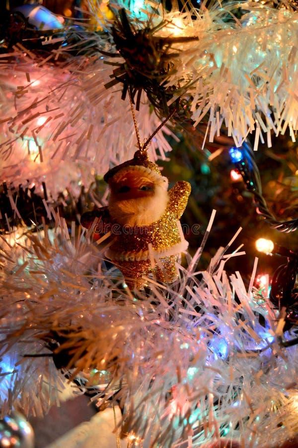 Decoração Santa Claus do Natal fotografia de stock royalty free