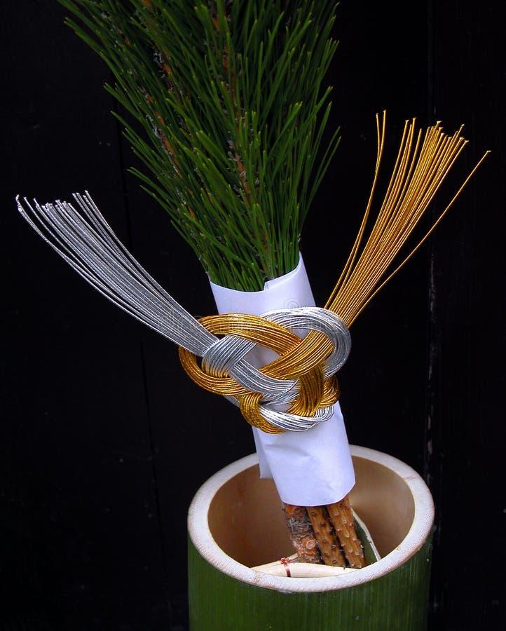 Download Decoração Tradicional Do Ano Novo Foto de Stock - Imagem de dourado, estação: 54106