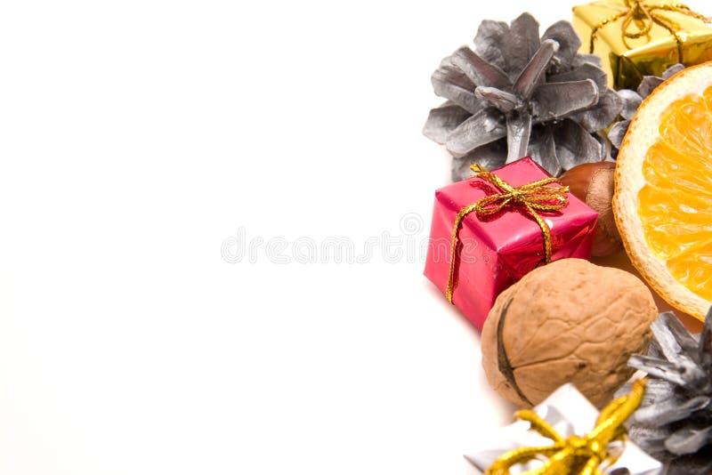 Decoração tradicional do Natal imagem de stock royalty free