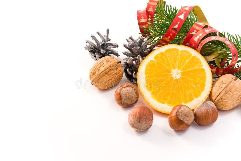 Decoração tradicional do Natal foto de stock royalty free
