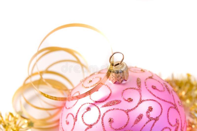 Decoração tradicional do Natal fotografia de stock royalty free