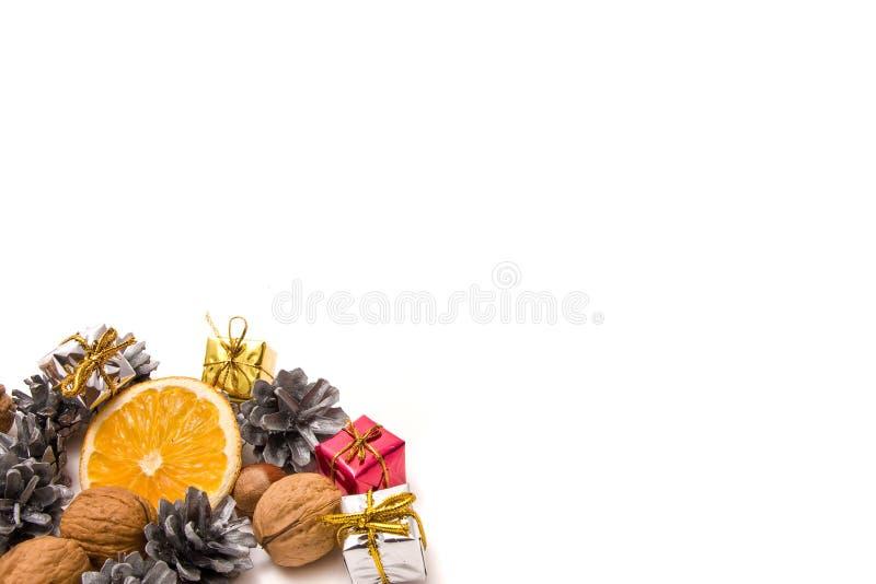 Decoração tradicional do Natal fotos de stock royalty free