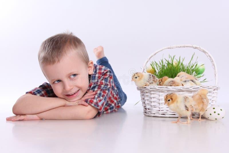 Decorações de Easter fotografia de stock royalty free