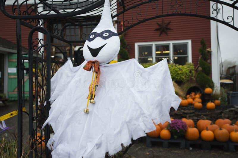 Decorações de Halloween; fotos de stock