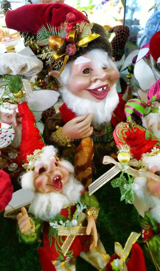 Decorações do duende fotografia de stock