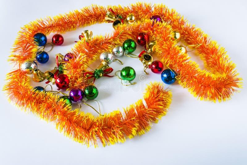 Decorações do Natal Cartão de Natal imagem de stock