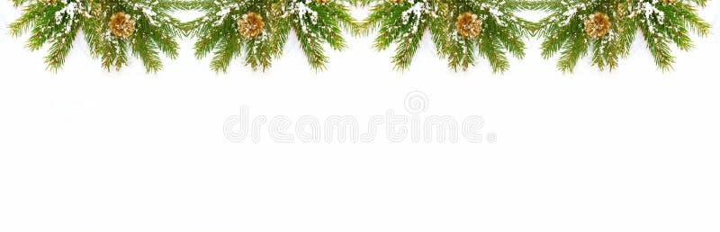 Decorações do Natal isoladas no fundo branco imagem de stock royalty free