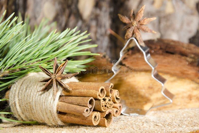 decorações feitos à mão do Natal fotografia de stock