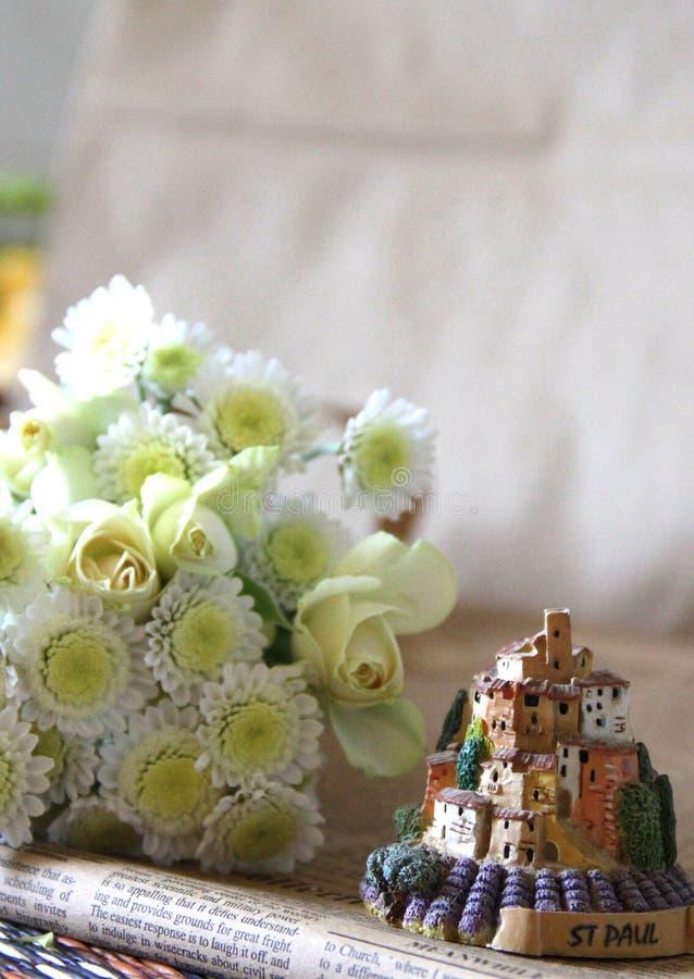 Decora??o do casamento com flores imagem de stock royalty free