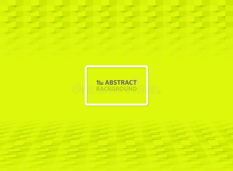 Decoración abstracta del diseño del corte del Libro Verde para el fondo de la cubierta Vector eps10 del ejemplo libre illustration