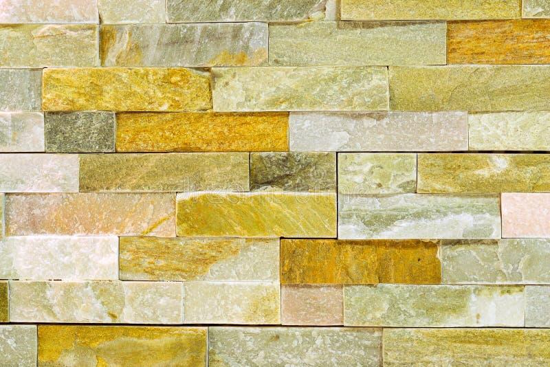 Decoración arquitectónica de la textura de mármol de la pared de ladrillo fotos de archivo libres de regalías