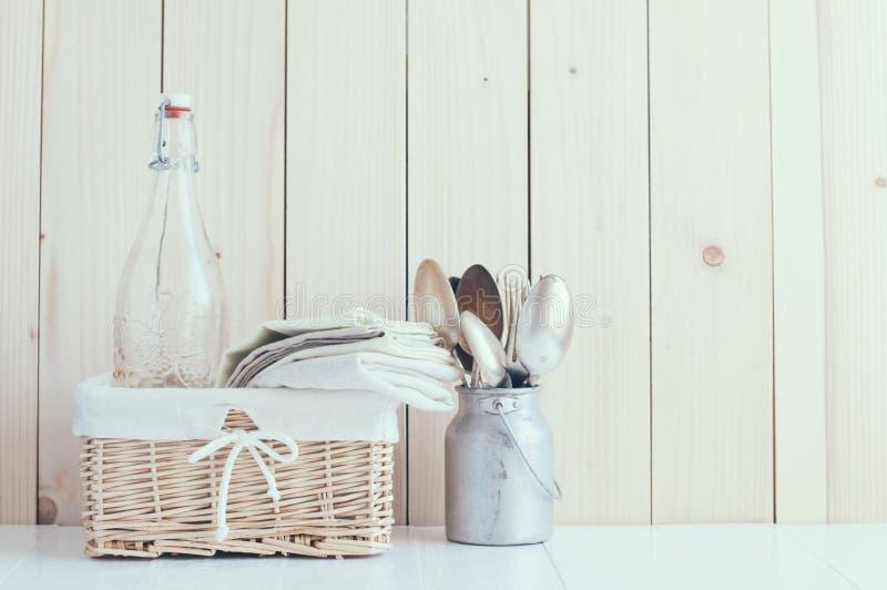 Decoración casera de la cocina fotos de archivo libres de regalías