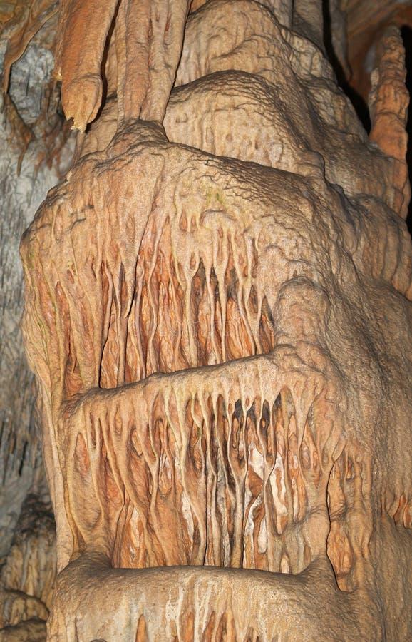 Decoración de Carst de la cueva foto de archivo libre de regalías