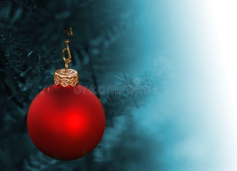 Decoración de la bola de la Navidad fotografía de archivo