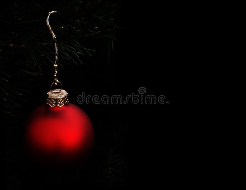 Decoración de la bola de la Navidad fotos de archivo