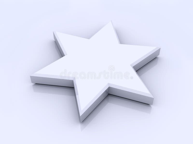Decoración de la estrella ilustración del vector
