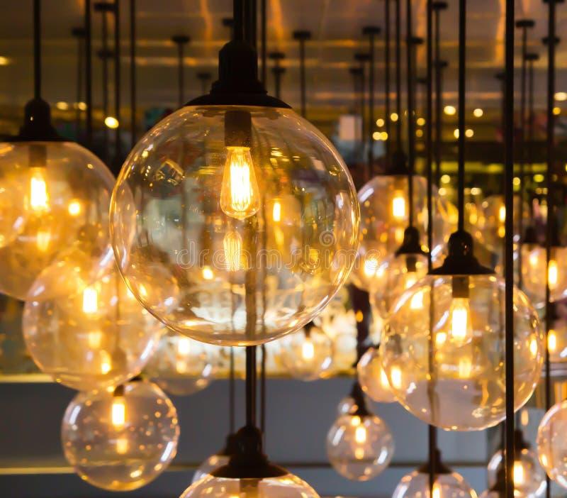 Decoración de la iluminación foto de archivo libre de regalías