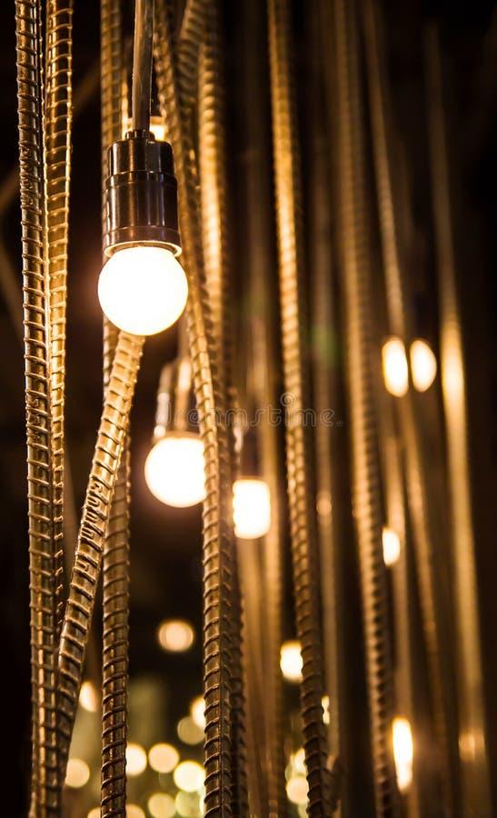 Decoración de la iluminación imagen de archivo libre de regalías