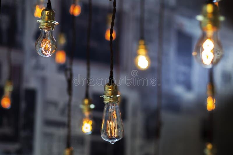 Decoración de la iluminación fotos de archivo