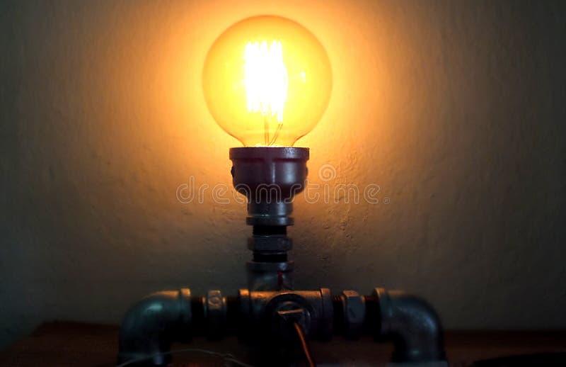 Decoración de la iluminación foto de archivo