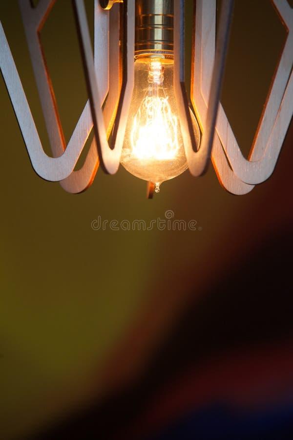 Decoración de la iluminación del vintage imagen de archivo