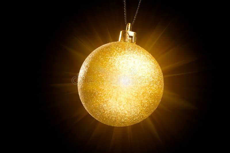 Decoración de la luz de la Navidad imagen de archivo libre de regalías