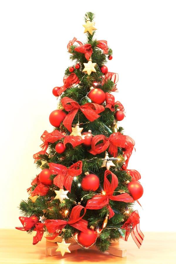 Decoración de la Navidad, árbol de navidad foto de archivo libre de regalías