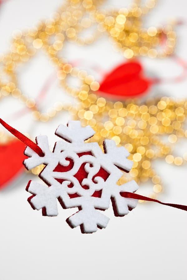 Decoración de la Navidad fotos de archivo