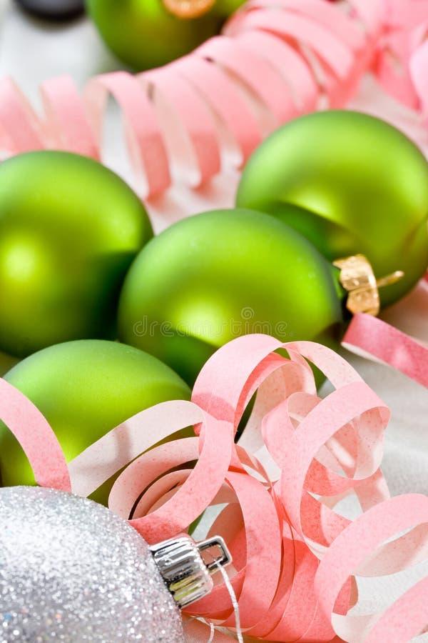 Download Decoración de la Navidad imagen de archivo. Imagen de streamer - 7276701