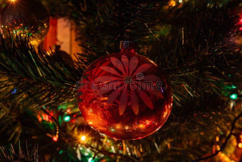 Decoración de la Navidad del período soviético imagen de archivo