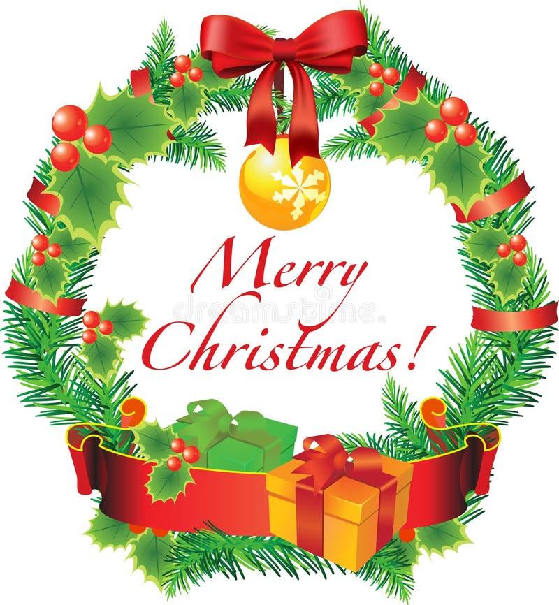 Decoración de la Navidad del vector ilustración del vector