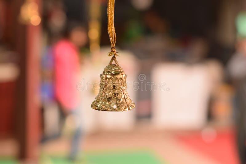 Decoración de la Navidad en Delhi, la India fotos de archivo libres de regalías