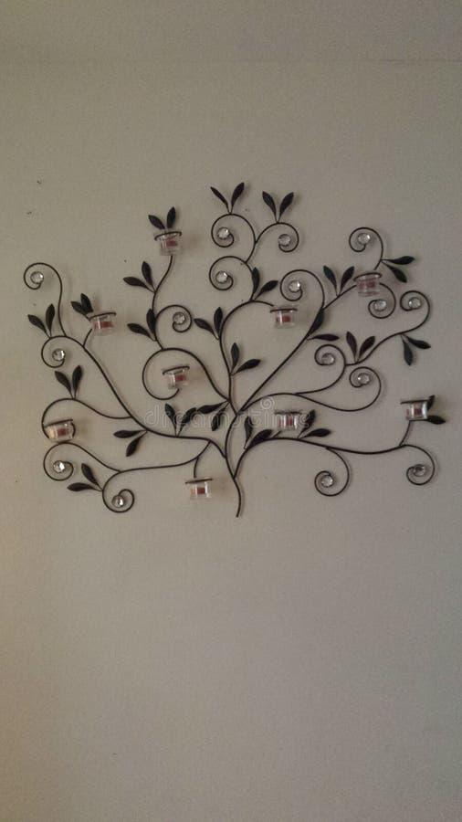 Decoración de la pared fotografía de archivo libre de regalías