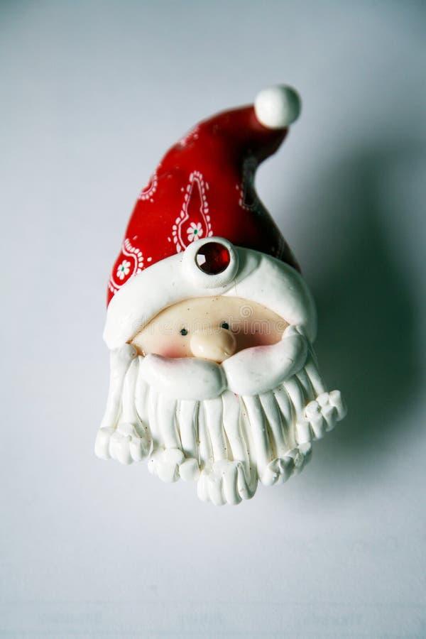 Decoración de Papá Noel imágenes de archivo libres de regalías