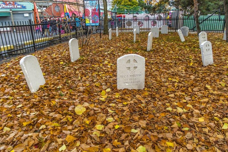 Decoración de Ronde Halloween del La fotografía de archivo