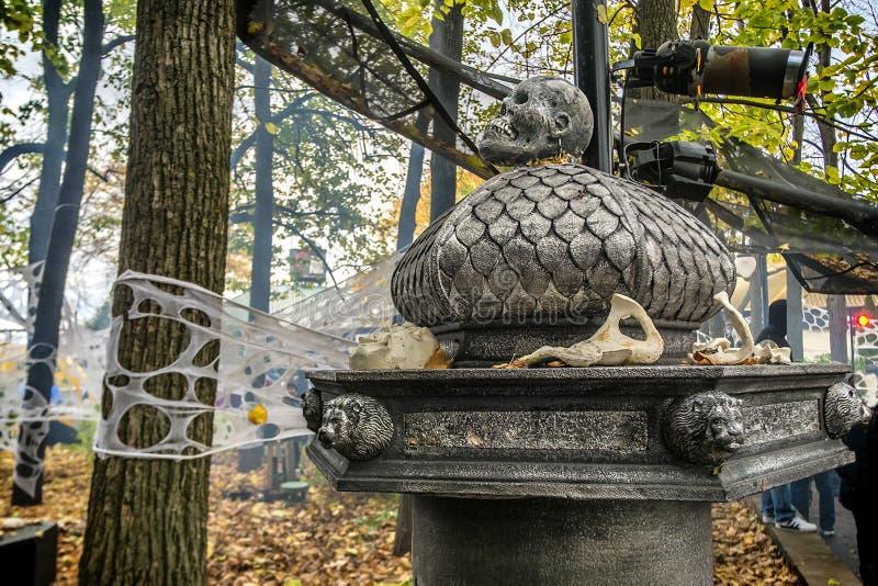 Decoración de Ronde Halloween del La imágenes de archivo libres de regalías