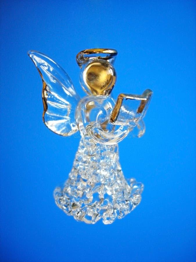 Decoración del ángel de la Navidad fotografía de archivo