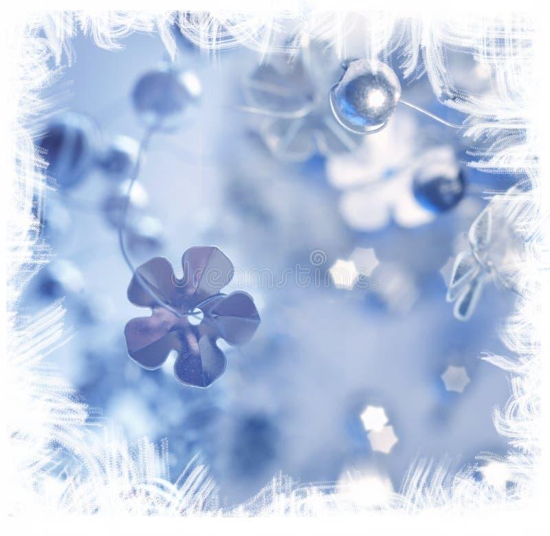 Decoración del día de fiesta de invierno stock de ilustración