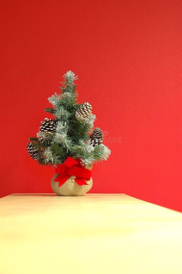 Decoración del día de fiesta de la Navidad (vertical) fotografía de archivo libre de regalías