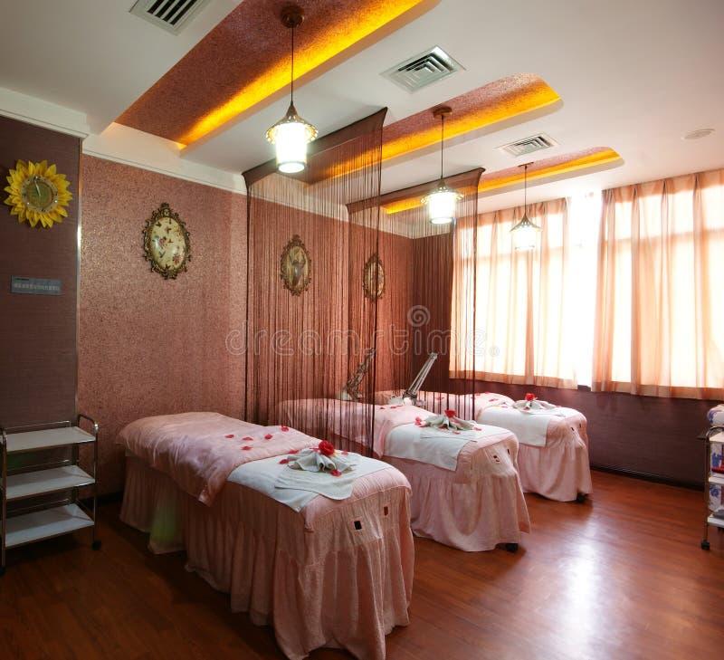Decoración del salón de belleza foto de archivo libre de regalías