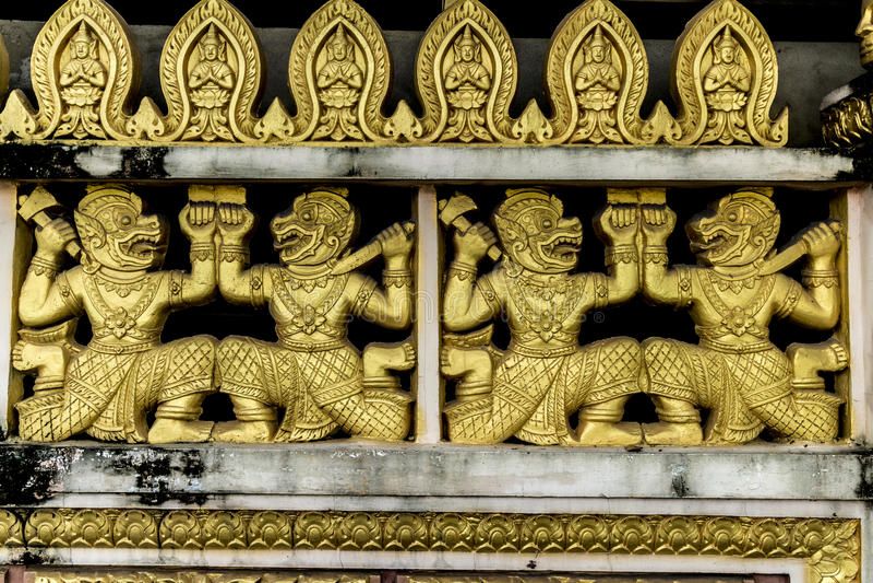 Decoración del templo imagenes de archivo
