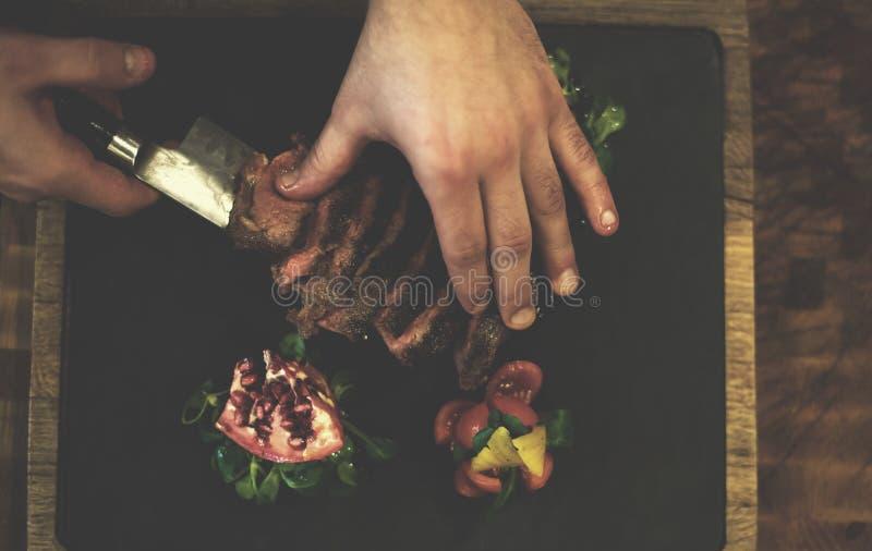 Decoración deliciosa de la opinión superior de las verduras frescas de la granja imagenes de archivo