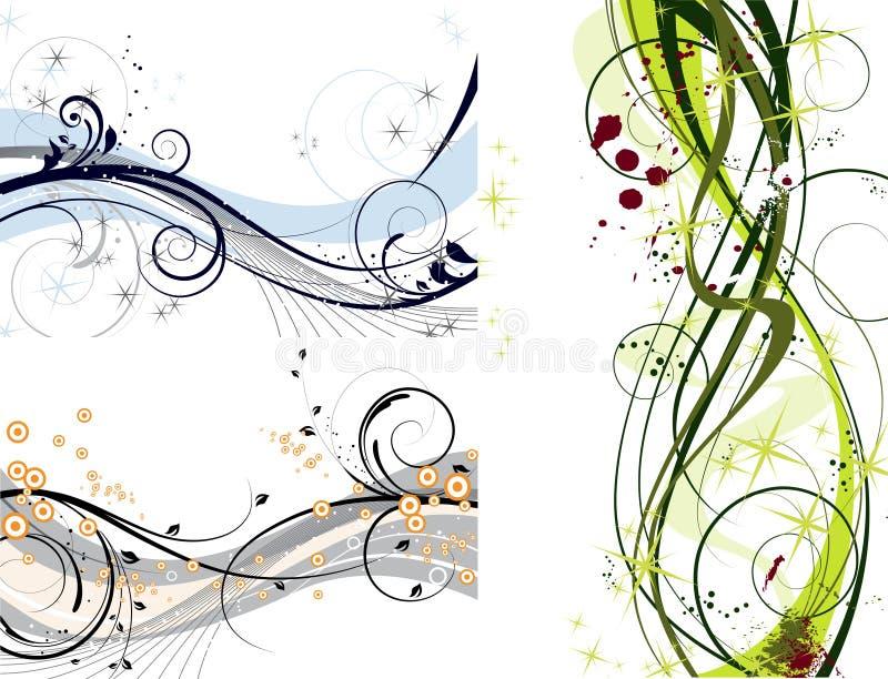 Decoración determinada abstracta libre illustration