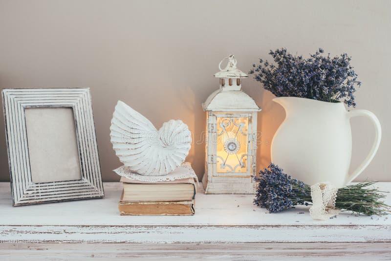Decoración interior elegante lamentable imagen de archivo libre de regalías
