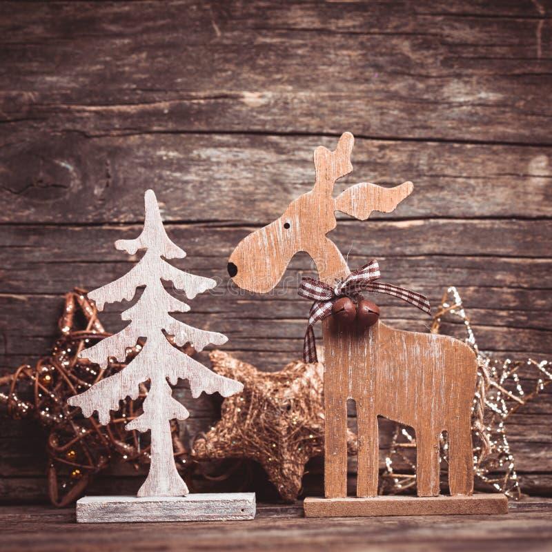 Decoración natural de la Navidad imagen de archivo libre de regalías