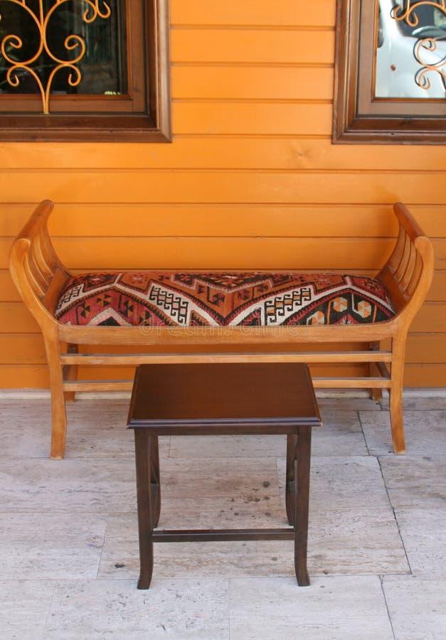 Decoración Turca De La Casa Imagen de archivo - Imagen de taburete ...
