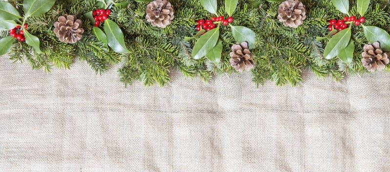 Decoraci?n de la Navidad fotografía de archivo libre de regalías