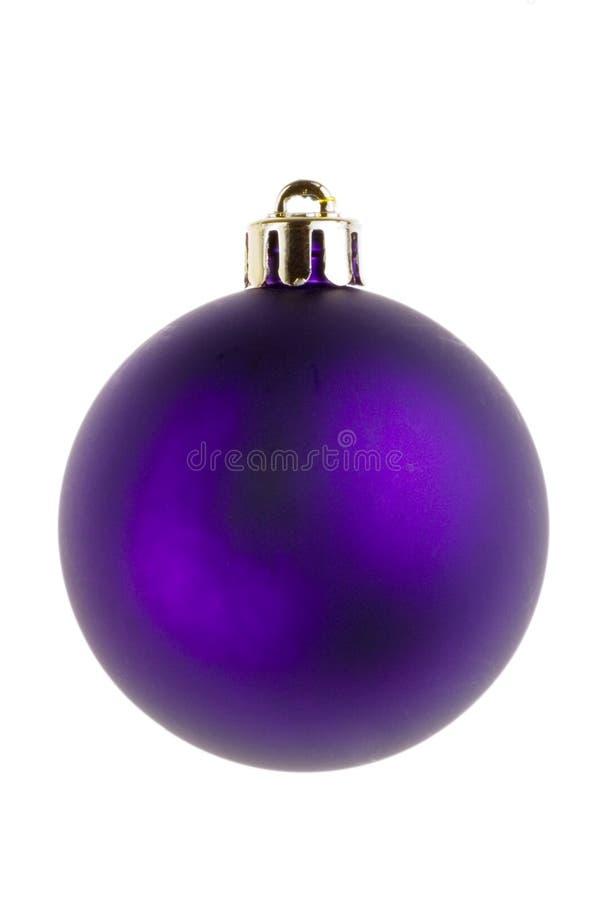 Decoraciones de la chuchería de la Navidad imagen de archivo libre de regalías