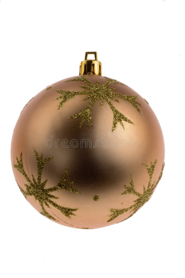 Decoraciones de la chuchería de la Navidad fotos de archivo libres de regalías